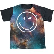 Smiley Galactic Smiley Big Boys Sublimation Shirt