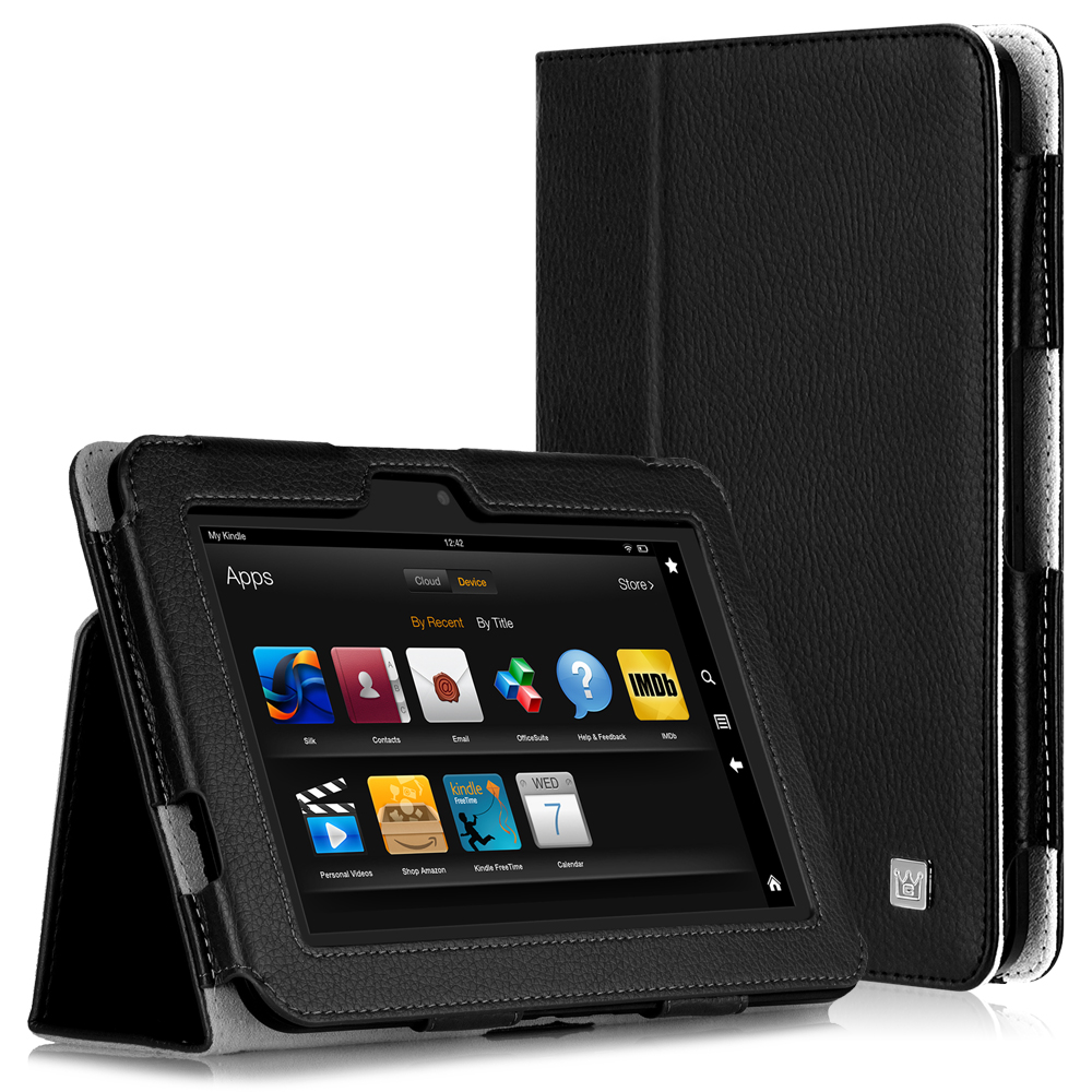 CaseCrown Bold Case for Amazon Kindle Fire HD 8.9 Inch (Built-in magnet for sleep / wake feature)