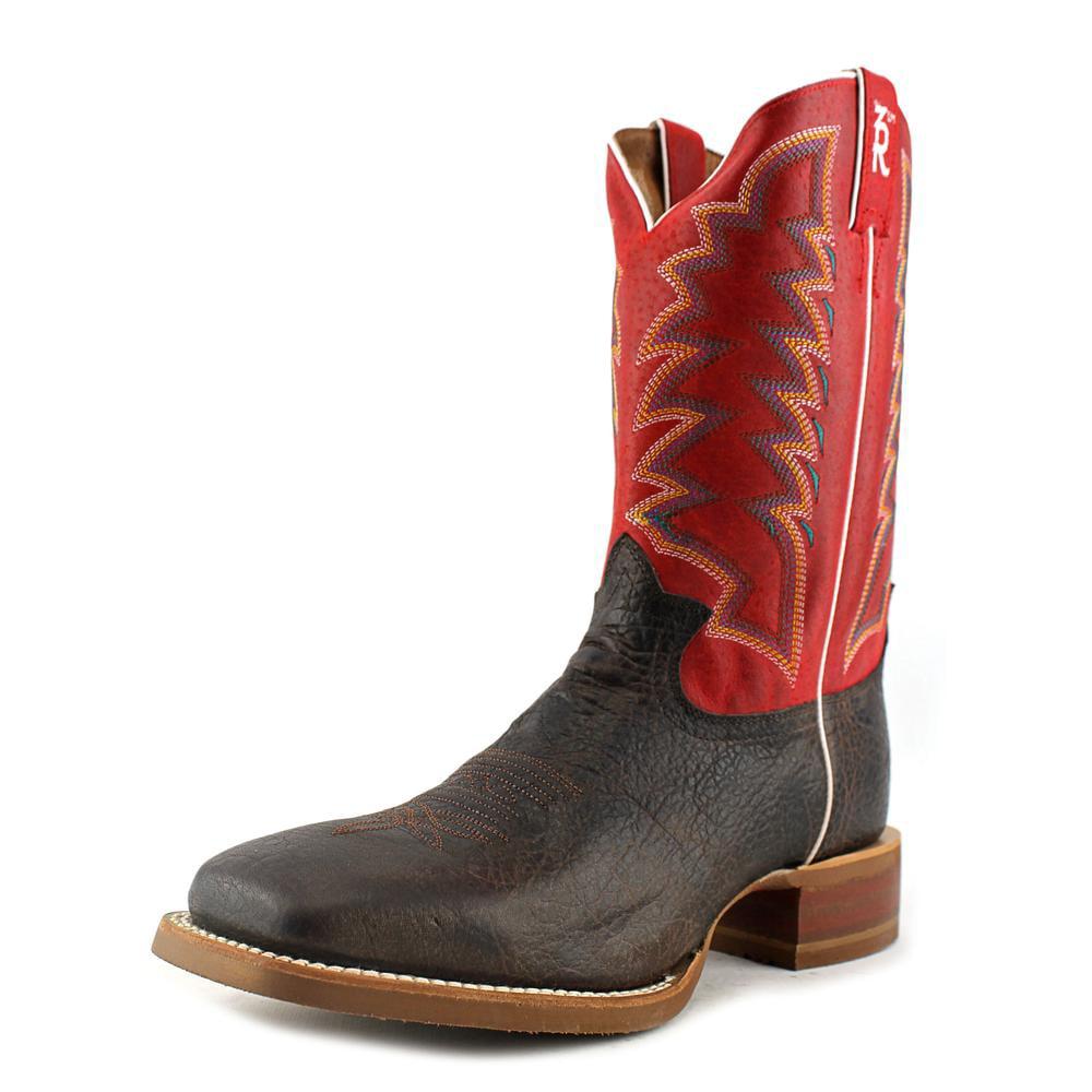 Tony Lama 3R1127 Square Toe Leather Western Boot by Tony Lama
