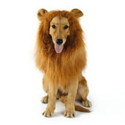 Pet Costume Dog Lion Wigs Mane Hair Scarf Clothes For Party Halloween Festival