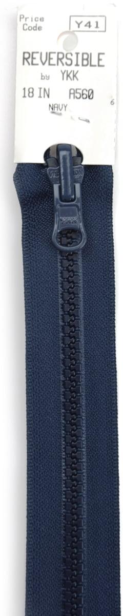 "Black YKK Zipper #10 110/"" Inch Separating Double Metal Tab Slider Vislon"