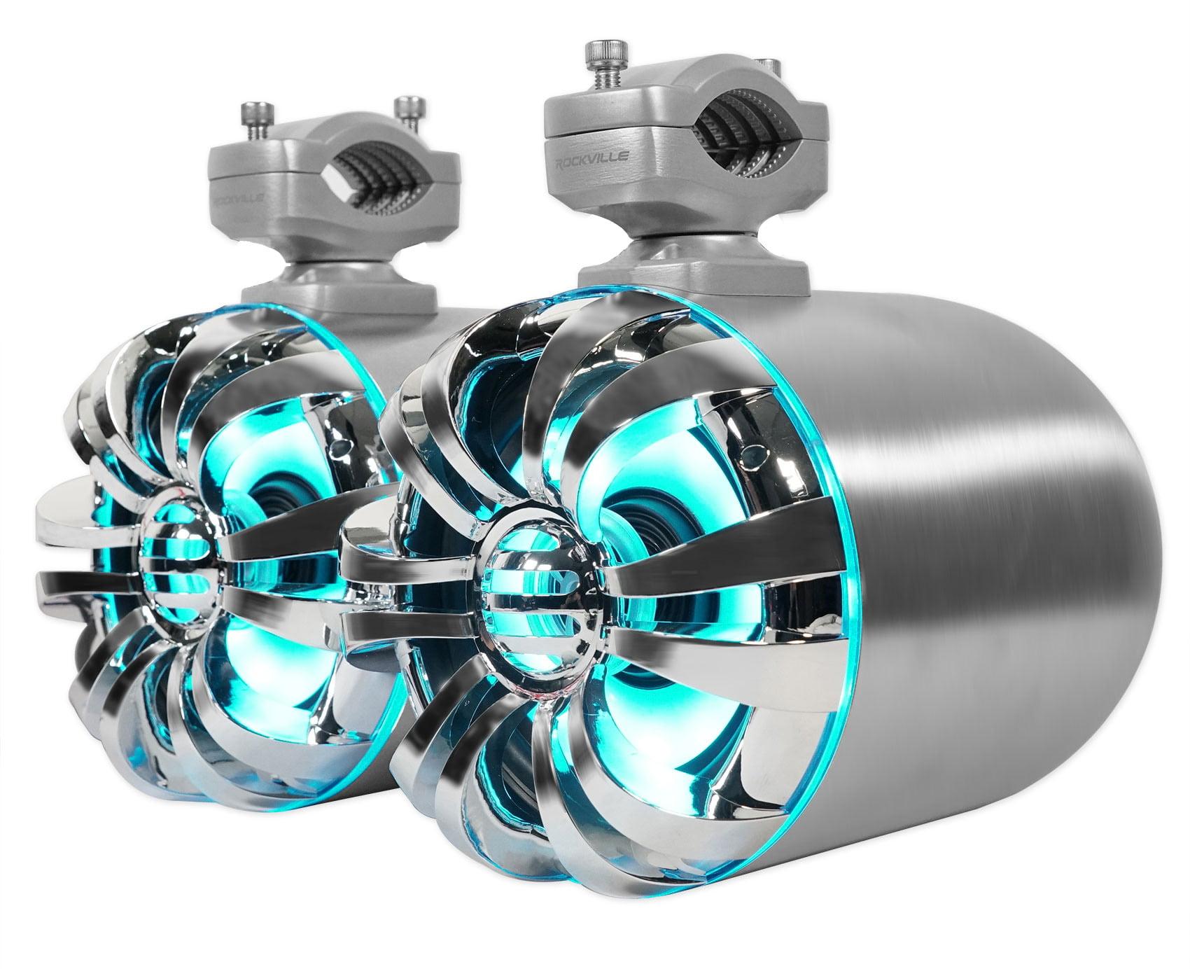 Rockville WB65KLED 6.5 600w LED Swivel Tower Speakers For RZR//ATV//UTV//Cart 2
