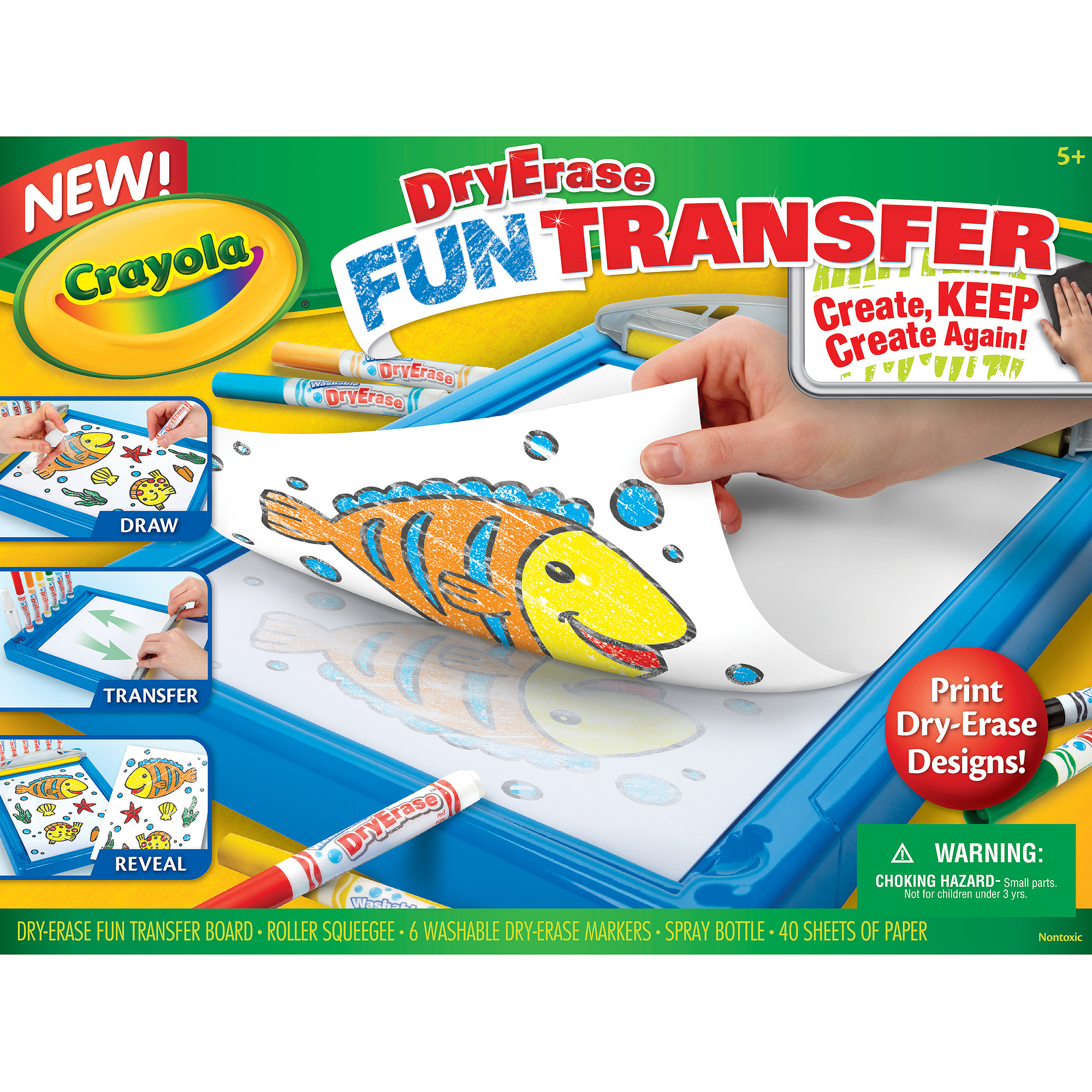 Dry Erase Fun Transfer Kit Print Maker