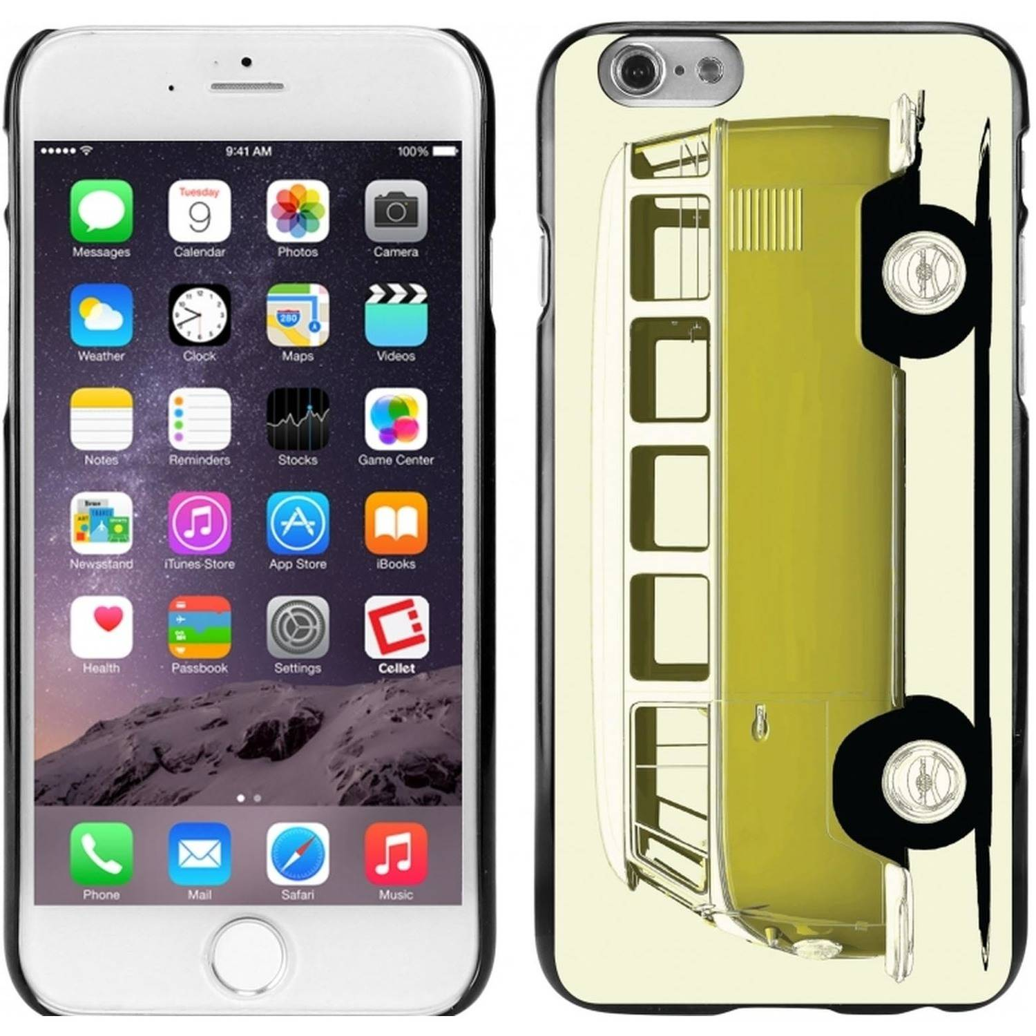 Cellet Black Proguard Case with Micro Bus for Apple iPhone 6
