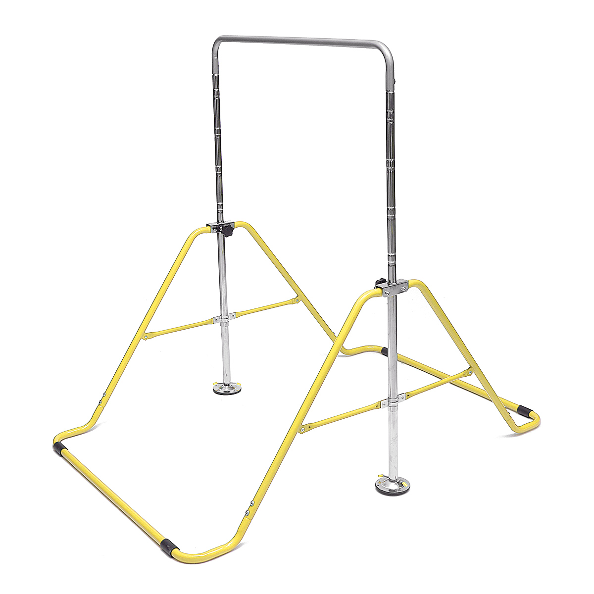 Gymnastic Bar Horizontal Training Pull Chin Up Adjustable Kids Kip Home Gym Expandable High Play Toy