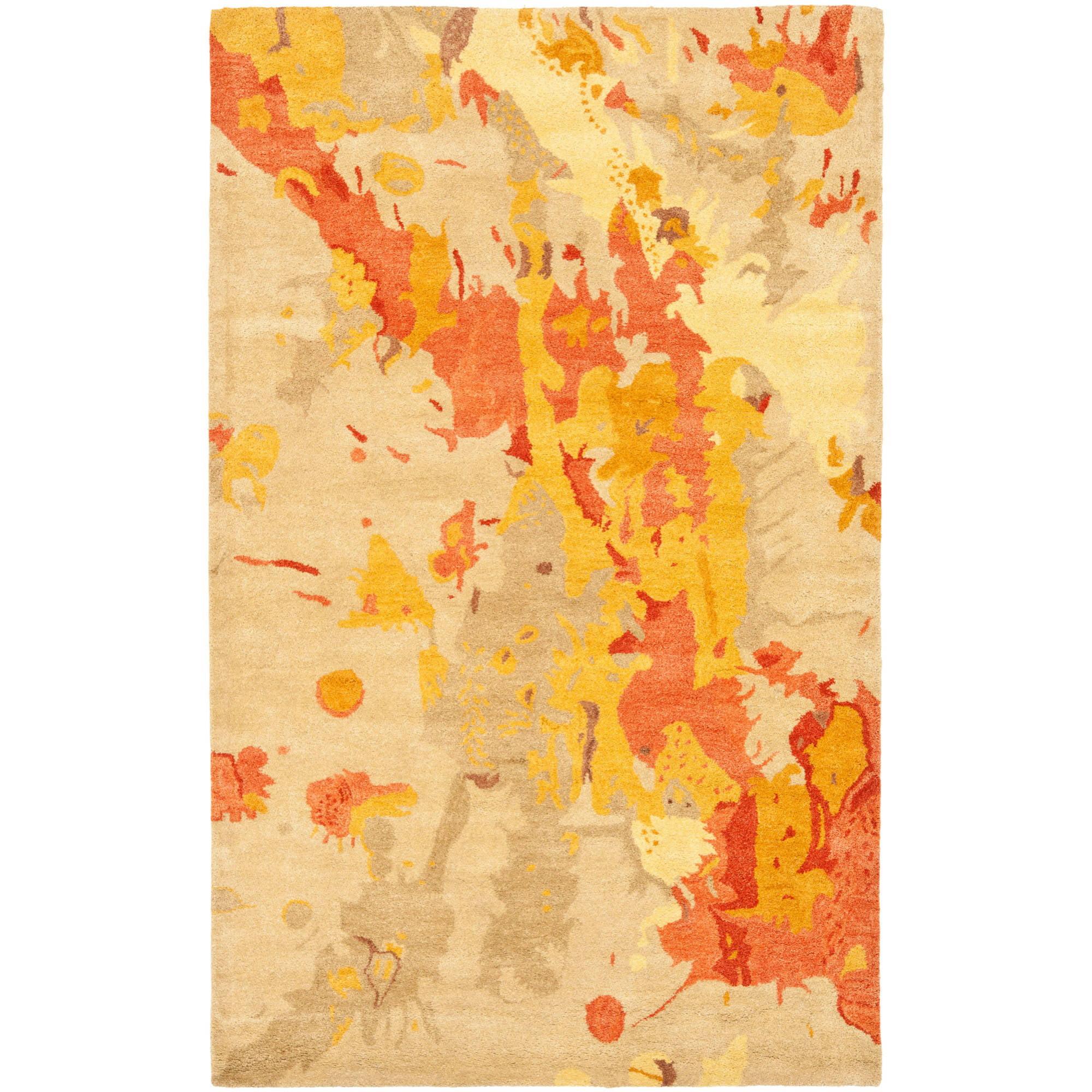 Safavieh Soho Cyprus Wool Rug, Beige / Multi-Color