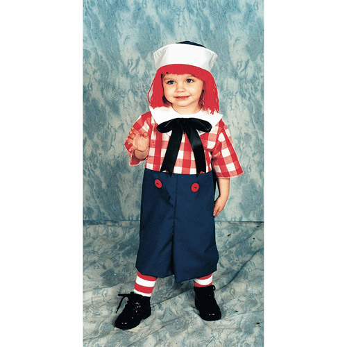 Raggedy Andy Child Halloween Costume