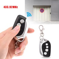 YLSHRF remote control for car, remote control key,315 433.92MHz Electric Cloning Universal Garage Door Gate Remote Control Duplicator Key Fob