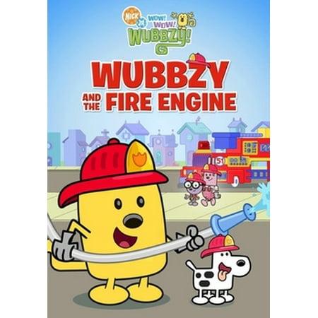 Wow Wow Wubbzy: & The Fire Engine (DVD) - Halloween Songs Wubbzy