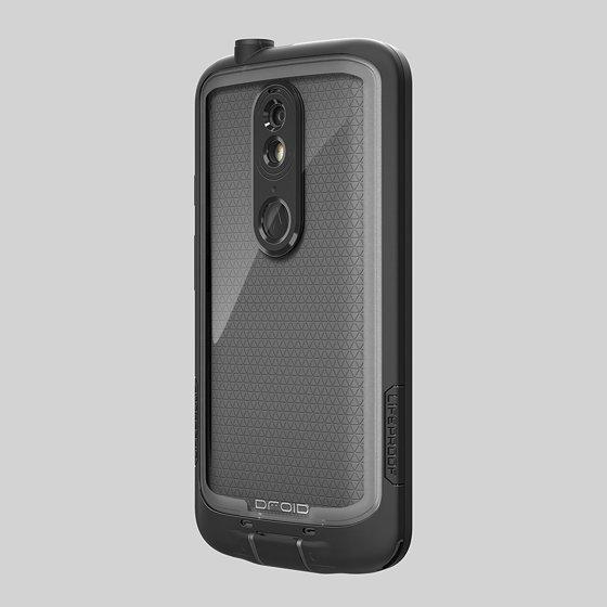 los angeles ed17e 6c269 LifeProof FRE Series Waterproof Case for Motorola Droid Turbo 2 - Black  (Manufacturer Refurbished)