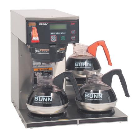 "Bunnomatic 38700.0003 AXIOM-35-3 17"" 12 Cup Automatic Cof..."