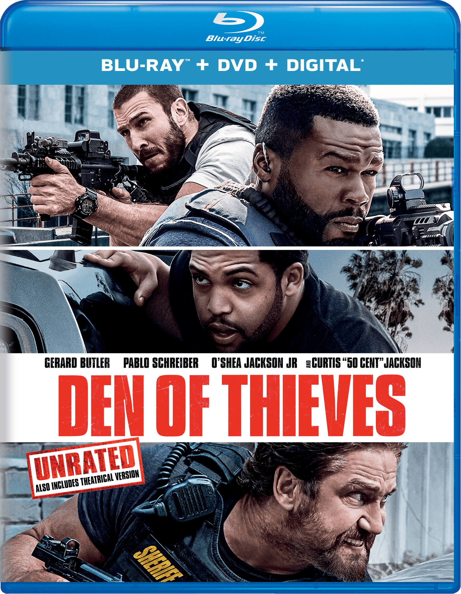 Click here to buy Den of Thieves (Blu-ray + DVD + Digital) by Universal Studios Home Video.