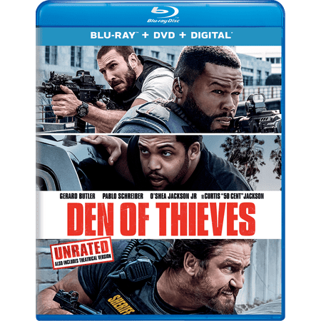 Den of Thieves (Blu-ray + DVD + Digital)