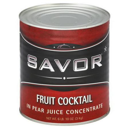 Savor 587273 Fruit Cocktail In Juice 6-10 Can