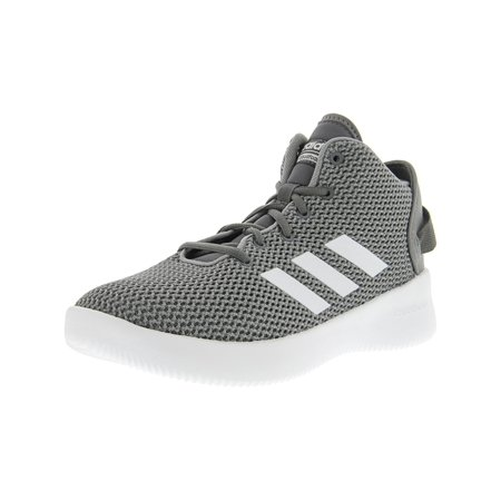 Adidas Men's Cf Refresh Mid Grey / Footwear White Ankle-High Basketball Shoe - (Adidas Mens Wide Response Gt Wrestling Shoe)