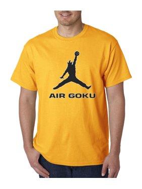 New Way 629 - Unisex T-Shirt Air Goku Dbz Dragon Ball Z Jordan Parody