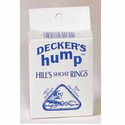Decker 2 Shoat Hill's Hump Rings, 100-Count