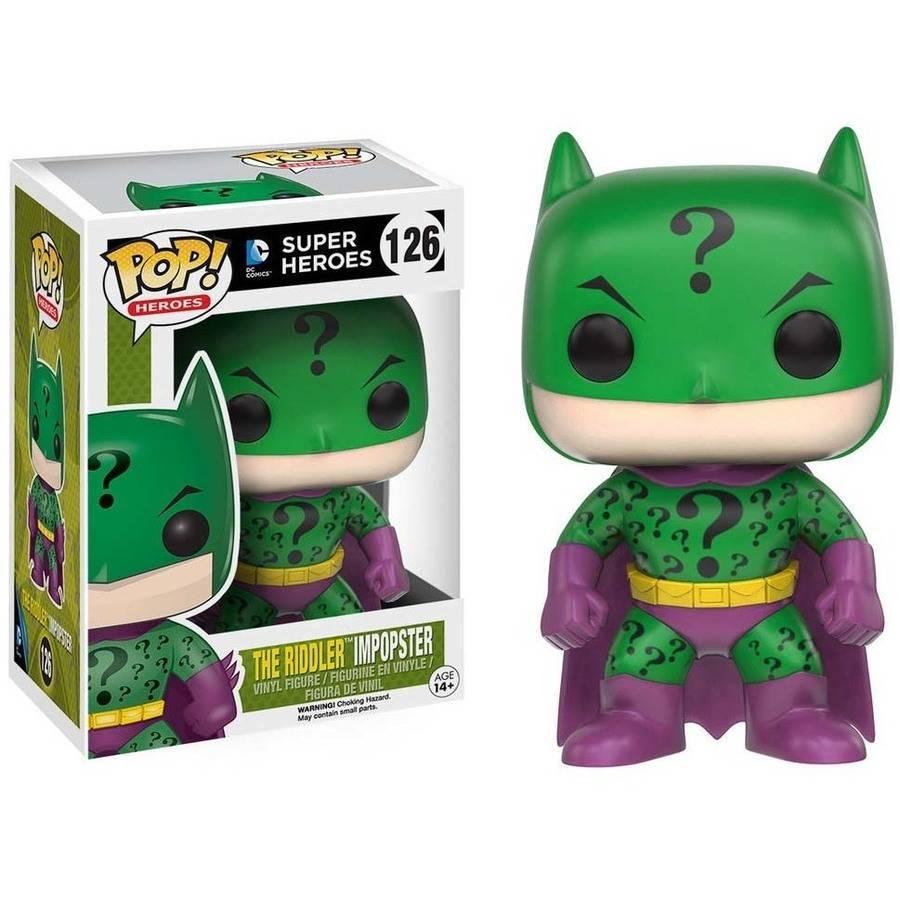Funko 10779 Pop! Heroes: The Riddler Batman Impopster