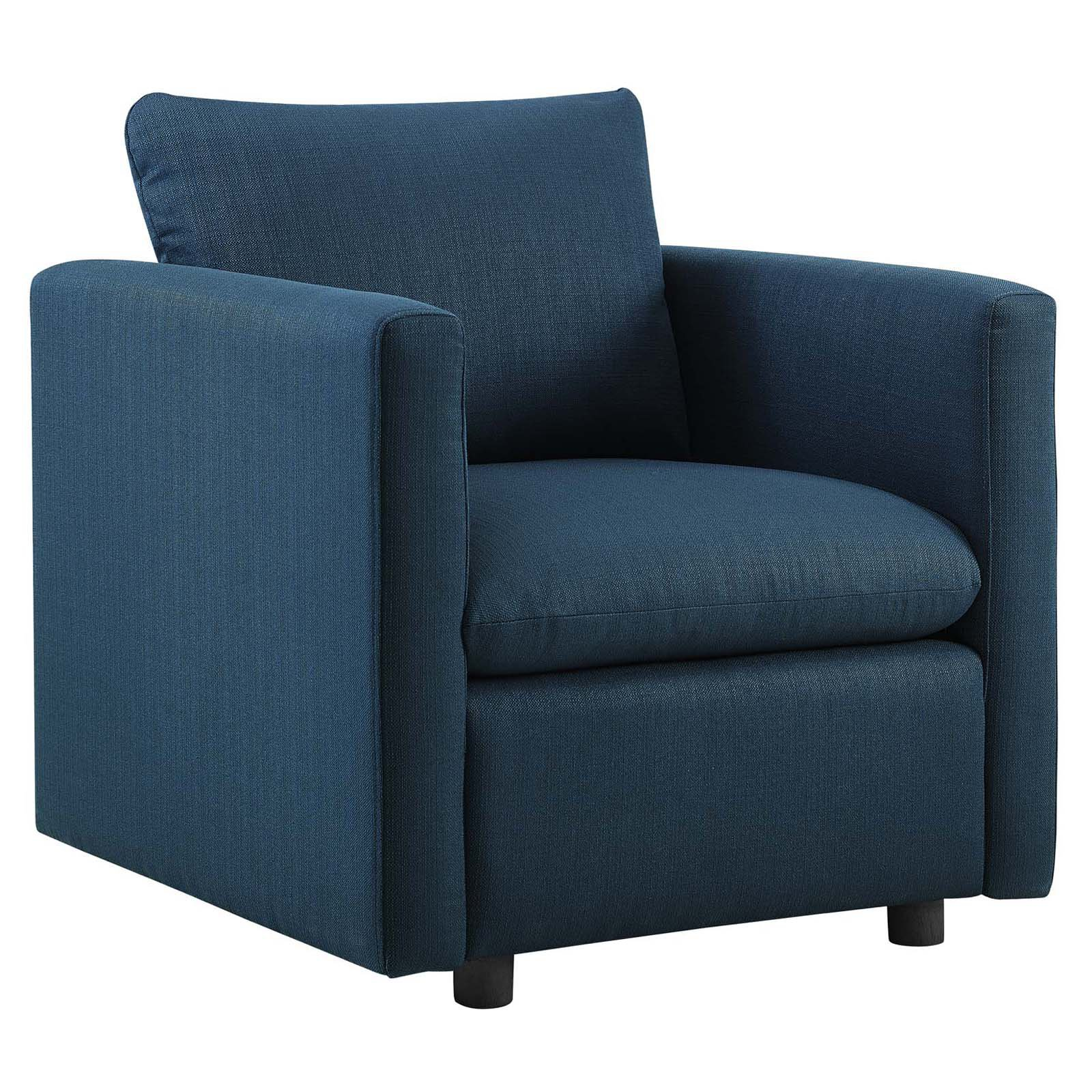 Modway Activate Upholstered Fabric Armchair