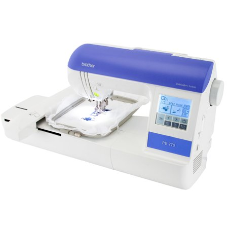 Brother PE40 Embroidery Machine With USB Port Factory Serviced Enchanting Brother Embroidery And Sewing Machine With Usb Port