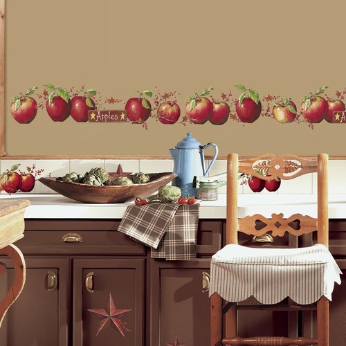 Wallhogs Countey Apples Wall Decal