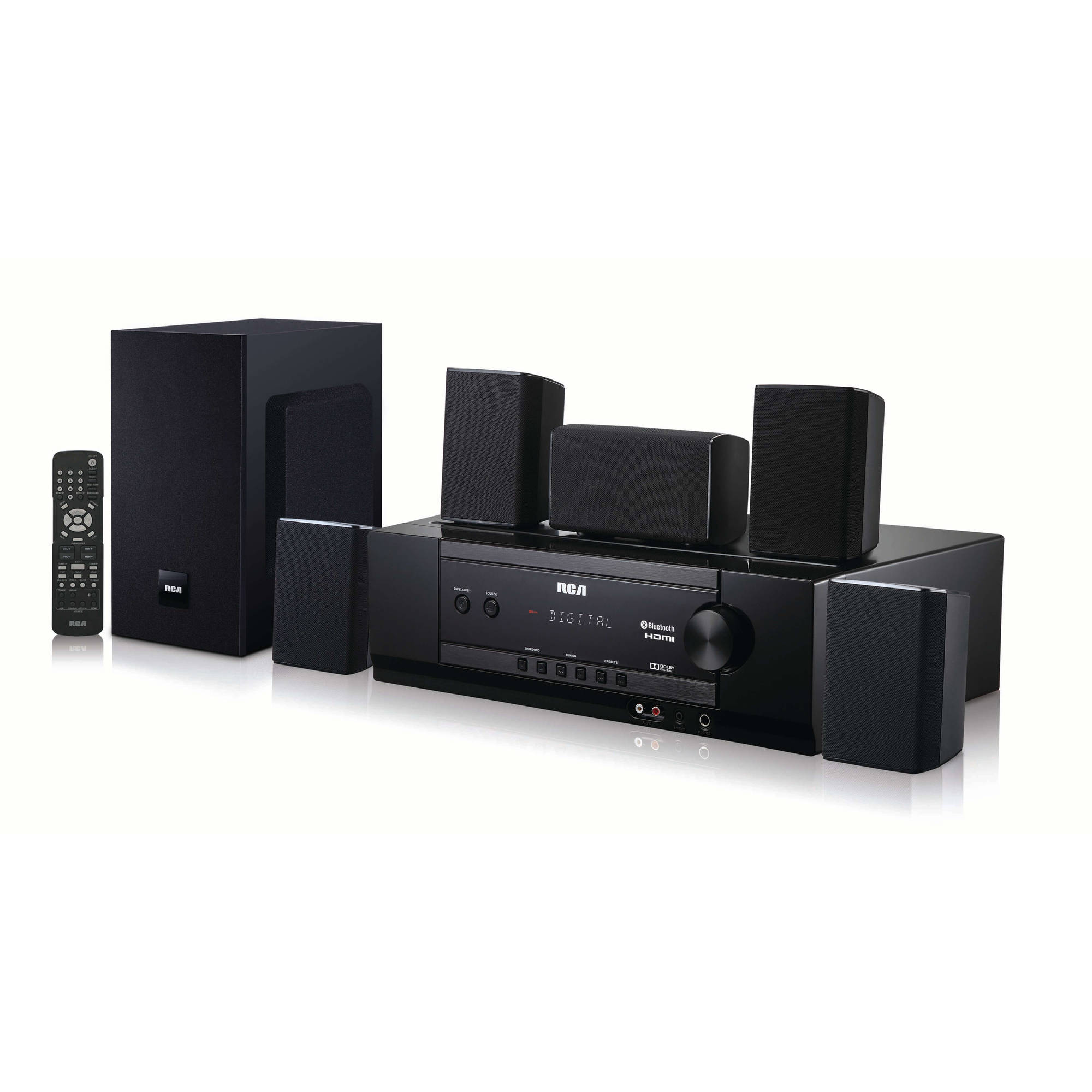 rca bluetooth home theater system - walmart