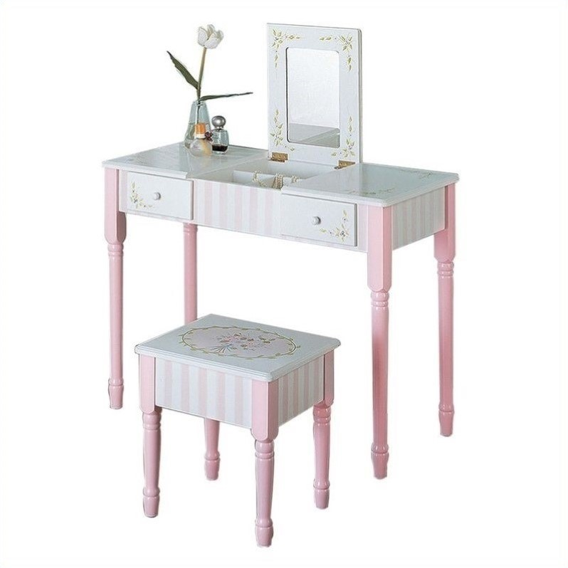 Fantasy Fields Bouquet Vanity Table Amp Stool Set