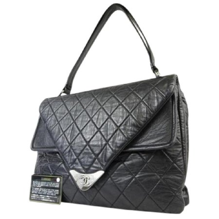 Chanel Maxi Top Quilted Classic Flap 217803 Shoulder Bag