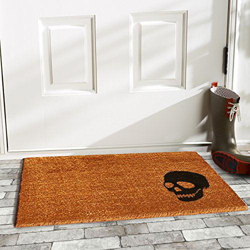 Home & More Skull Doormat