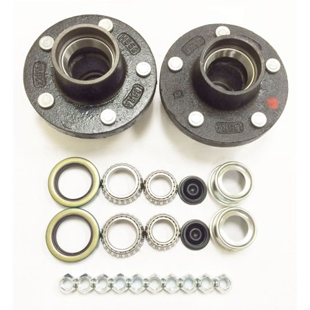 - Set of 2 Trailer Idler Hub Kits 5 on 5