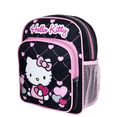 Hello Kitty Heart Black Mini Backpack #83073
