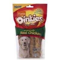 Hartz Oinkies Chicken Wrapped Dog Treats, 8.2 Oz. (8 Pack)