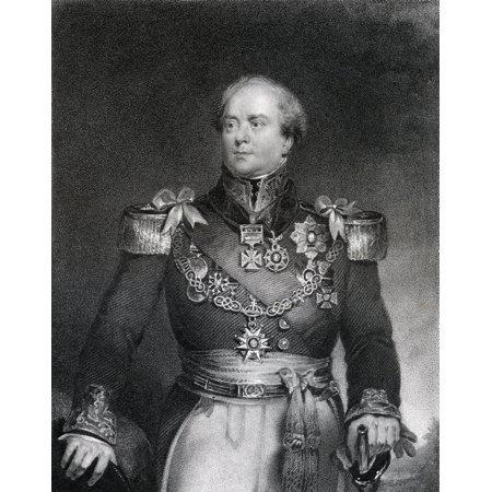 Sir Archibald Campbell 1St Baronet 1769 To 1843 Officer In The British Army And Administrator Of The Colony Of New Brunswick Engraved By J Cochran After J Wood From The Book The National Portrait Gall