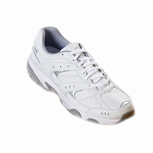 Avia A6012MWS Mens White Athletic Lace Up Sneaker Shoes by