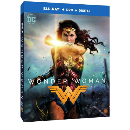 Wonder Woman  2017   Blu Ray   Dvd   Digital Hd