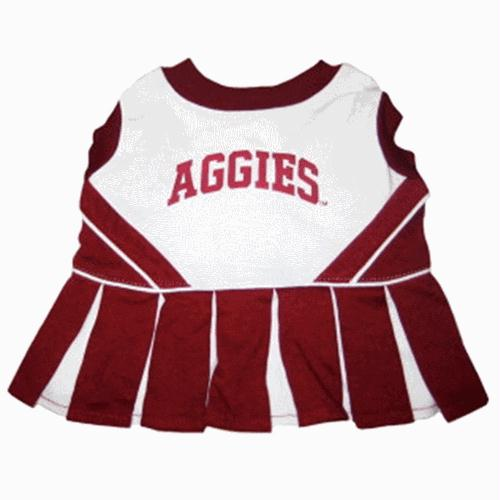 Texas A&M Cheerleader Dog Dress - X-Small