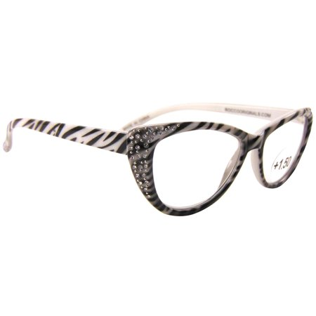 Bay Studio Womens Zebra Print Reading Glasses (Zebra Print Glasses)