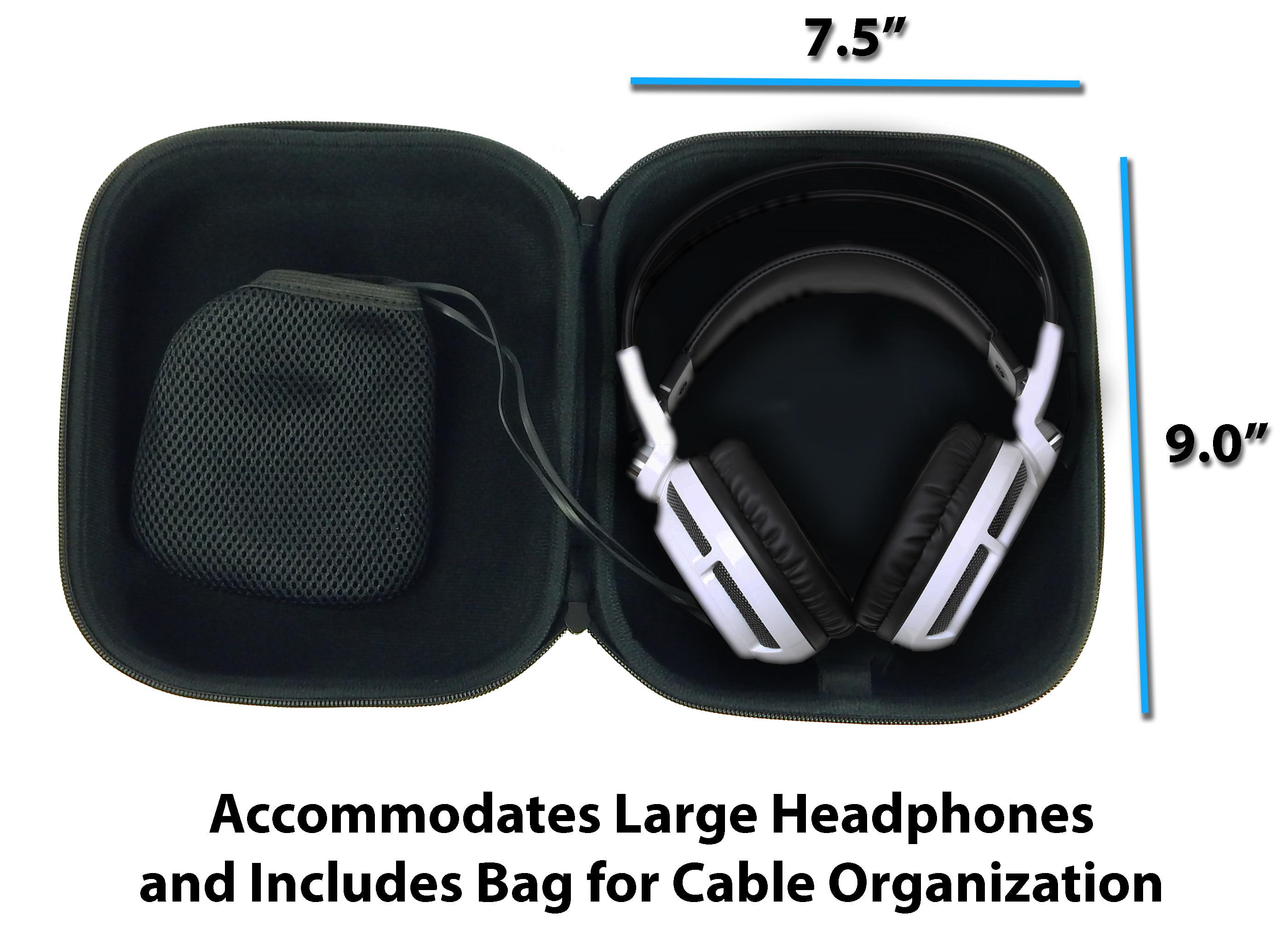 3c4e4b97b7e CASEMATIX Protective Gaming Headset Travel Case Bag – Fits SteelSeries  Siberia 350 , Siberia 800 , 650 , Siberia V3 Prism , Raw Prism , Siberia 200  ...
