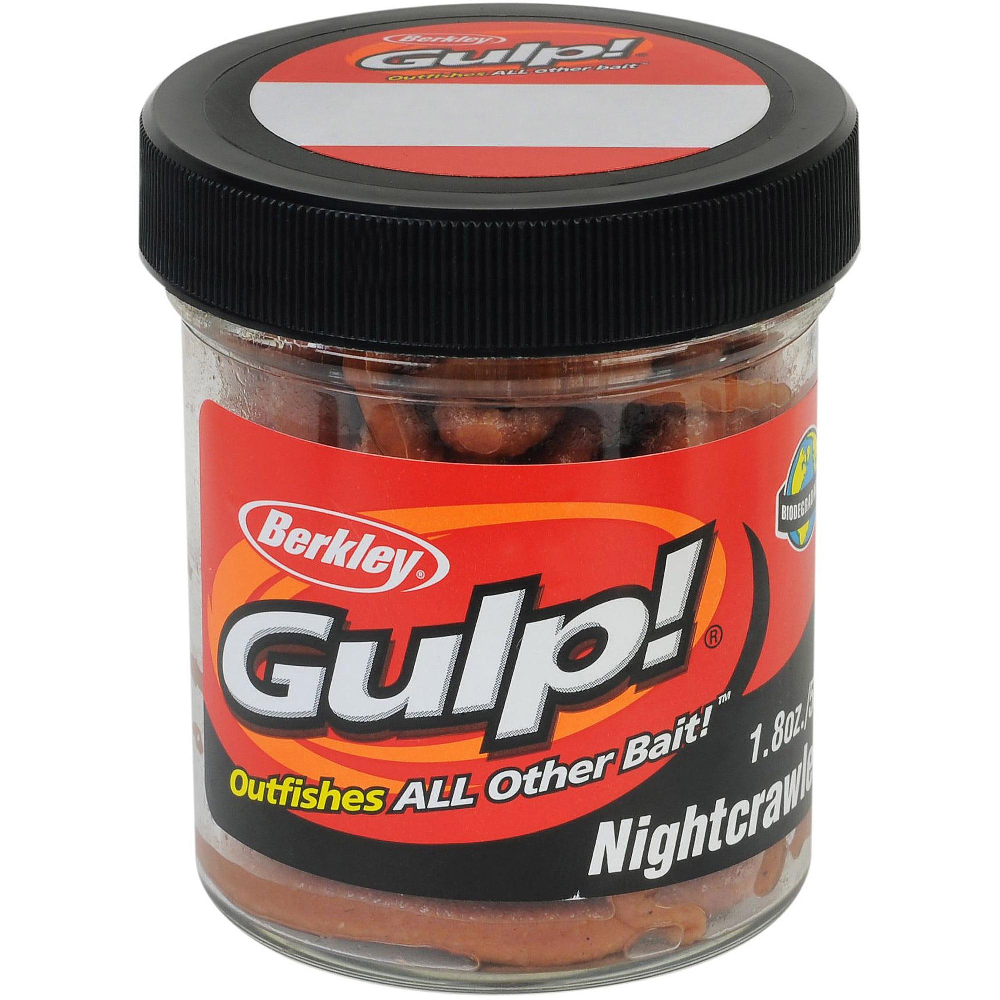 "Berkley Gulp! 6"" Extruded Nightcrawler"