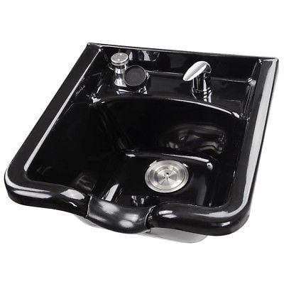 Shampoo Bowl Hair Sink Vacuum Breaker Trap Barber Salon E...