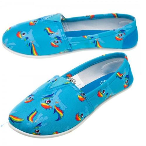 My Little Pony Canvas Slip On Shoes