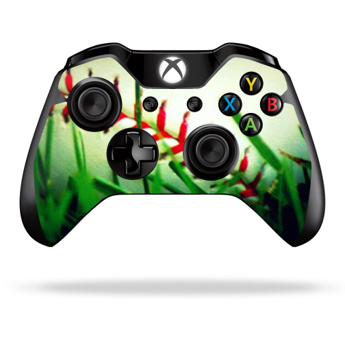 Protective Vinyl Skin Decal Cover for Microsoft Xbox One Controller wrap sticker skins Softball