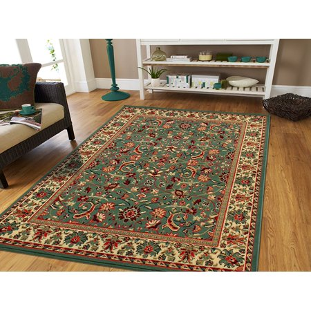 green persian area rugs for living room 8x11 large