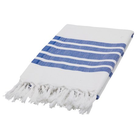 "Swan Comfort Turkish Cotton Towel Beach Pool Cover Up Bath Spa Sauna Gym - 67.5"" x 39.5"" - Navy Blue"