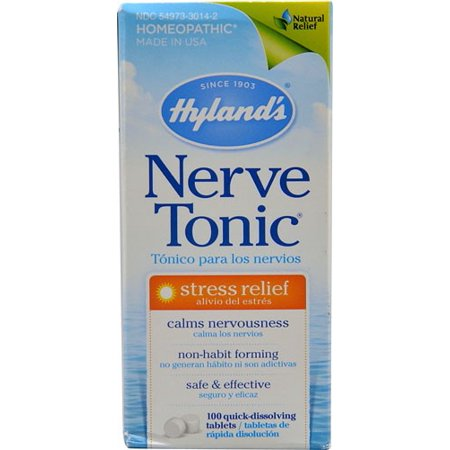 Hylands Nerve Tonic 3 grain Ct, 100 Ct - Nervine Tonic