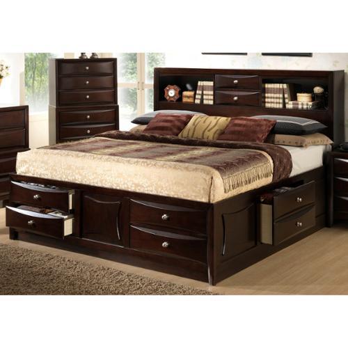 LYKE Home Oxi Storage Bed Queen