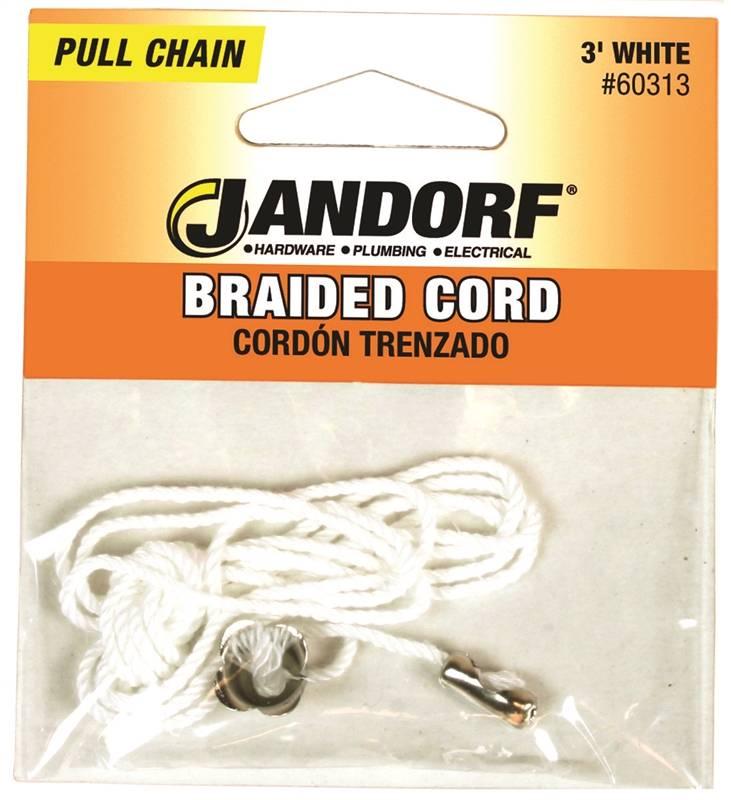 CHAIN PULL BRAID CRD W/BEL 3FT