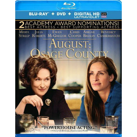 August  Osage County  Blu Ray   Dvd