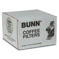4PC Bunn 250 Count 12 Cup Commercial Paper Coffee Filters