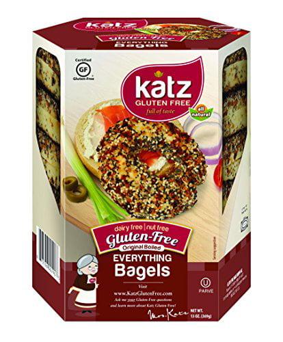 Katz Gluten Free Everything Bagels, 13 Ounce, (Pack of 1) by Katz Gluten Free